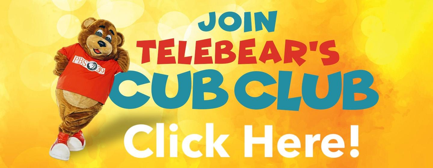 Join TeleBear's Cub Club - for kids up to age 10