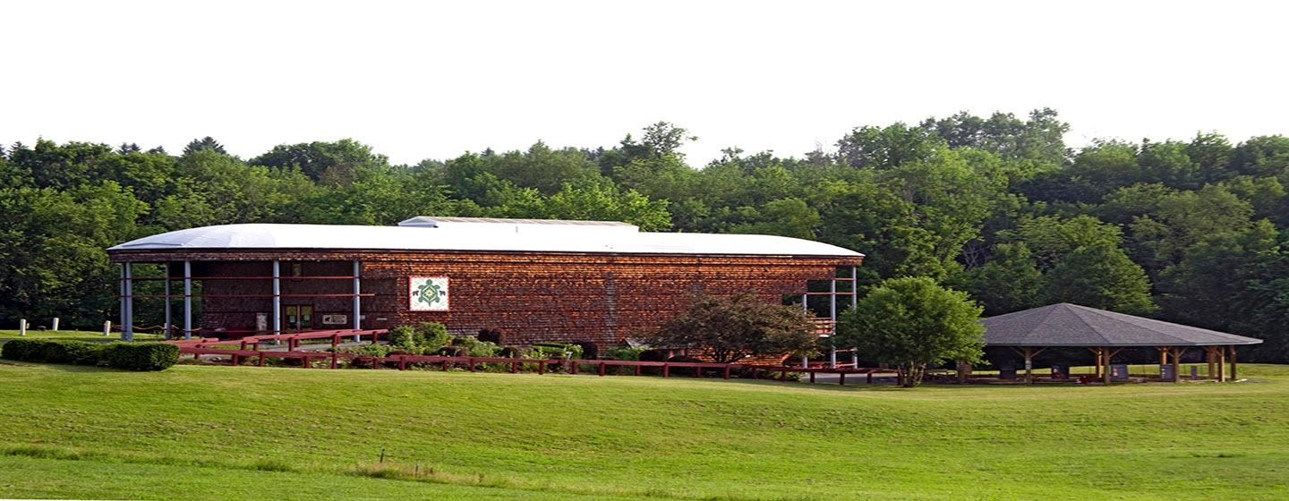 The Iroquois Indian Museum, Longhouse design.