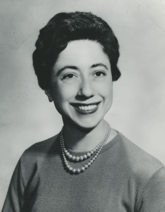 Lena Nargi as a young adult, before she met Bill Spencer and moved to Saratoga Springs.