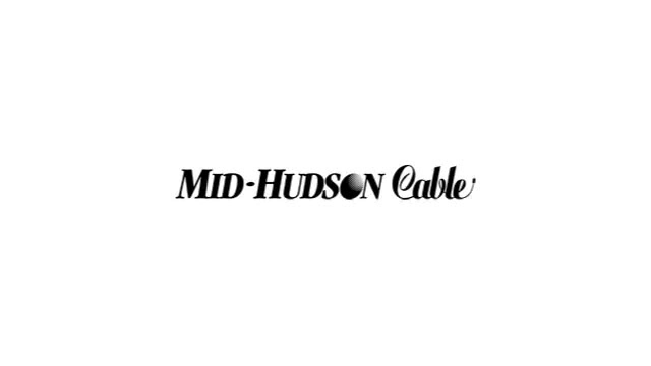 The Mid-Hudson Cable logo in black, retro-styled serif type.