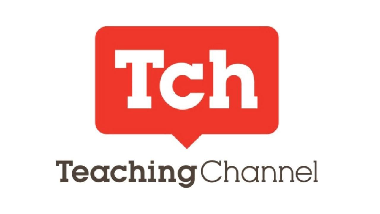 Teaching Channel Logo with red speaking bubble with the letters Tch in it and the words Teaching Channel in gray below