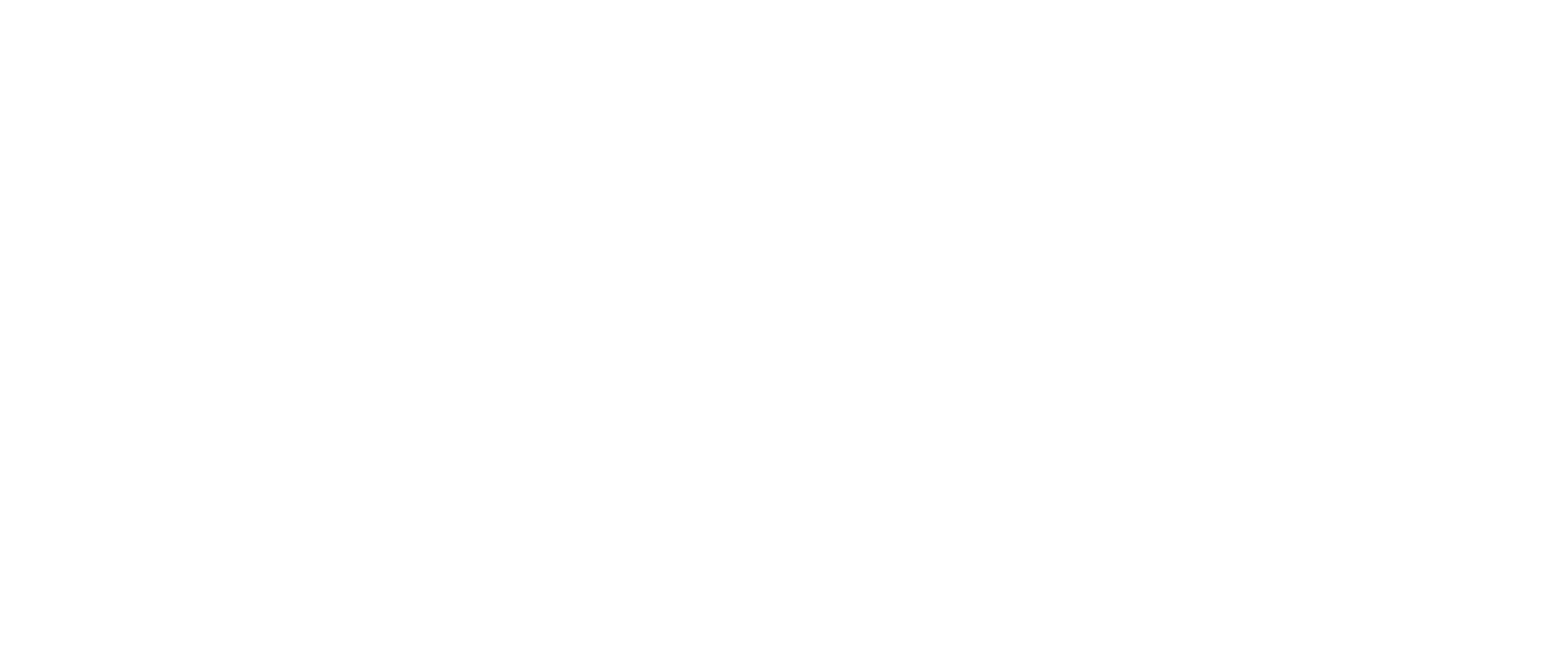 WEXT Radio Logo in White with the radio dial numbers 97.7 and 106.1 with a circular design element in between them