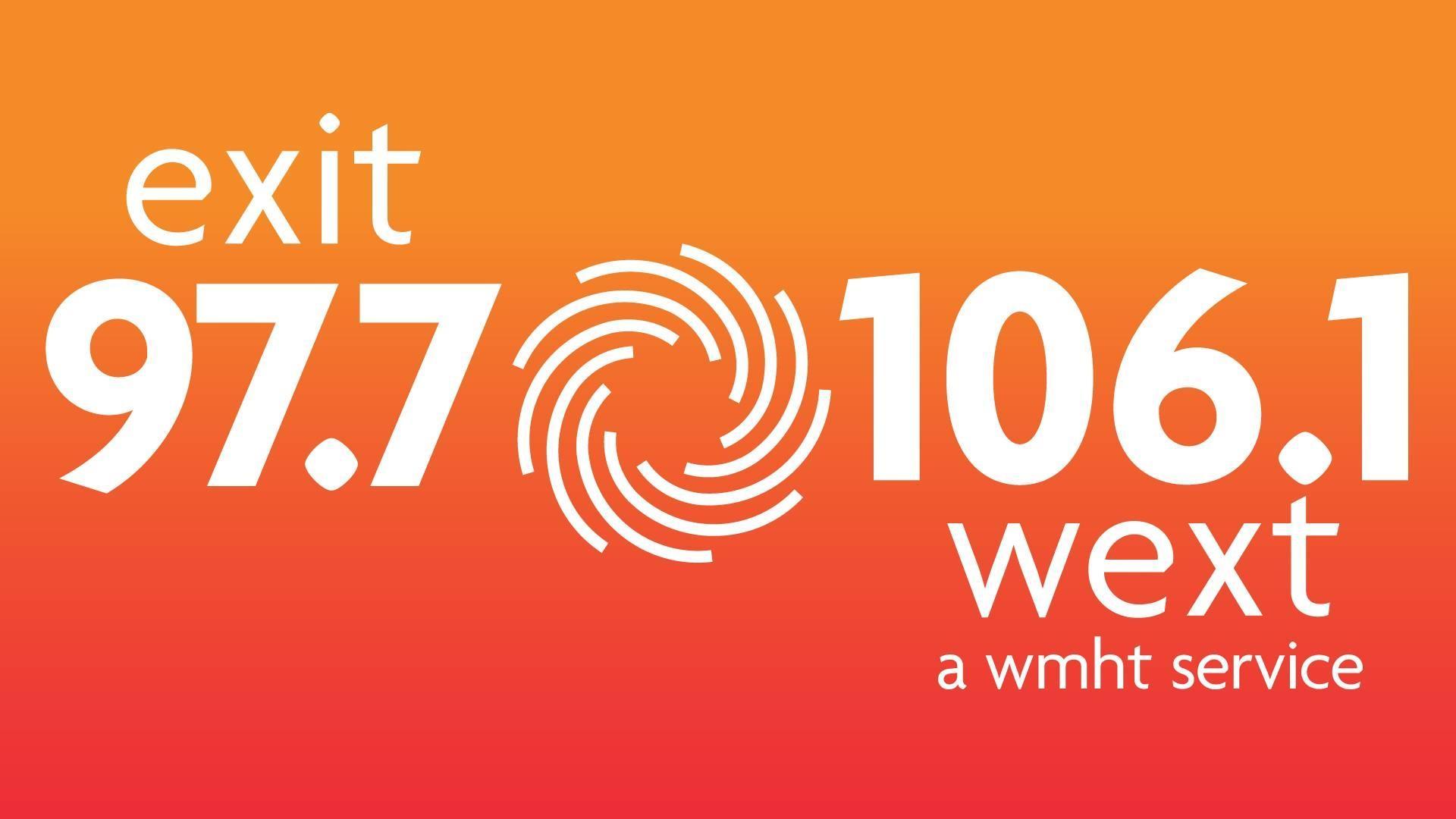 EXIT 97.7 /106.1 WEXT Radio Logo