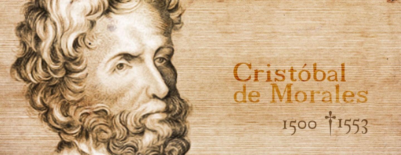 Portrait hero image of Classical music composer Cristobol de Morales