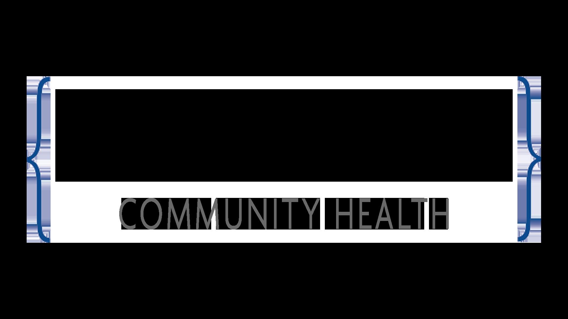 HEADLINE: Community Health RGB logo treatment