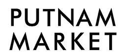 Putnam Market Logo in all caps, black modern sans serif font