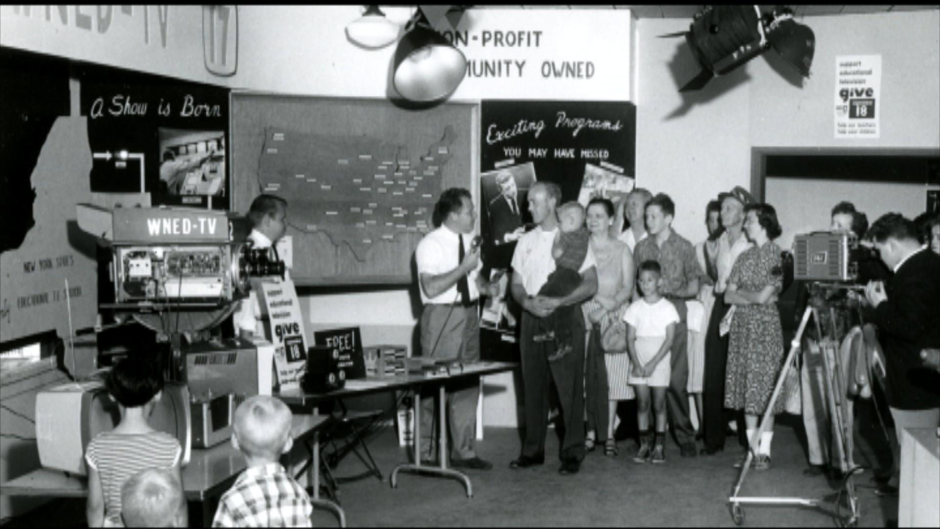 WNED-TV Open House at the Erie County Fair 1959