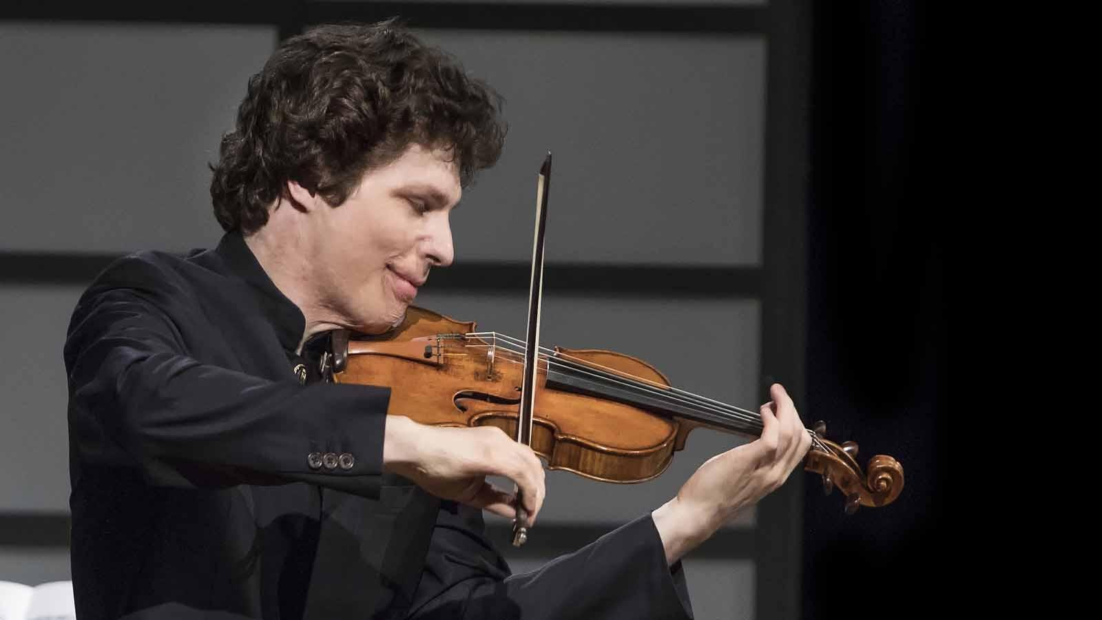 Augustin Hadelich performa at WNED's Classically Fabulous 40th