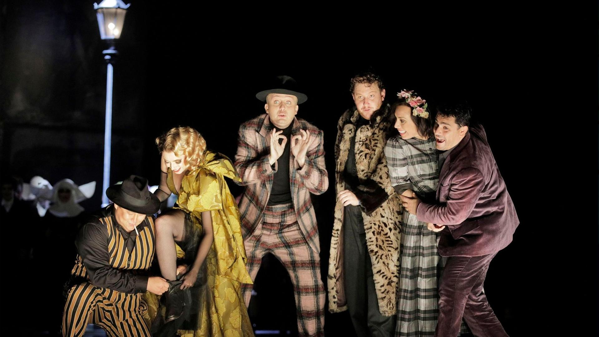 LA Opera's production of La bohème