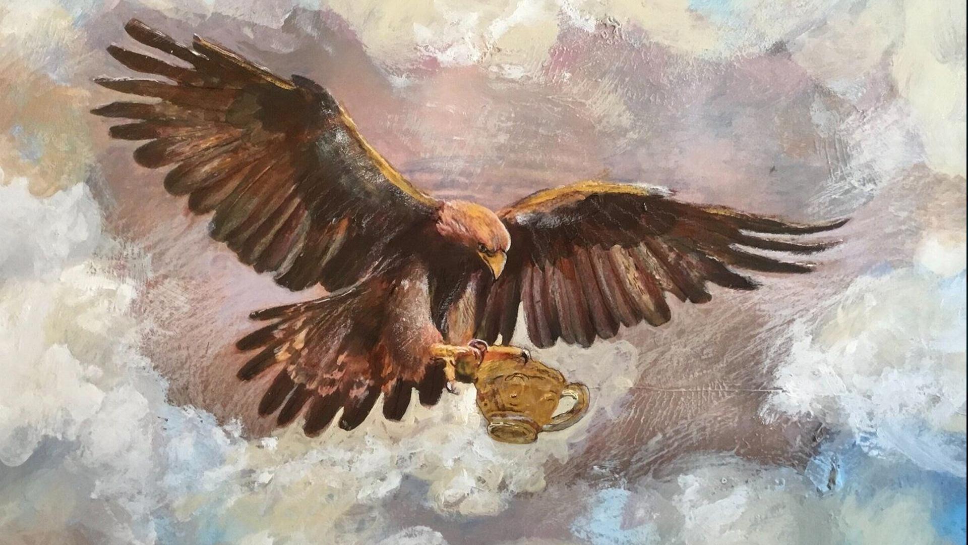 Jupiter's eagle and golden cup