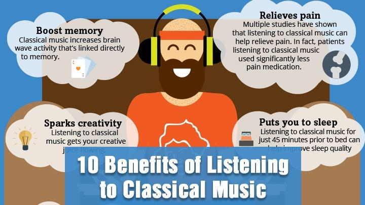 The 10 Benefits of Listening To Classical Music