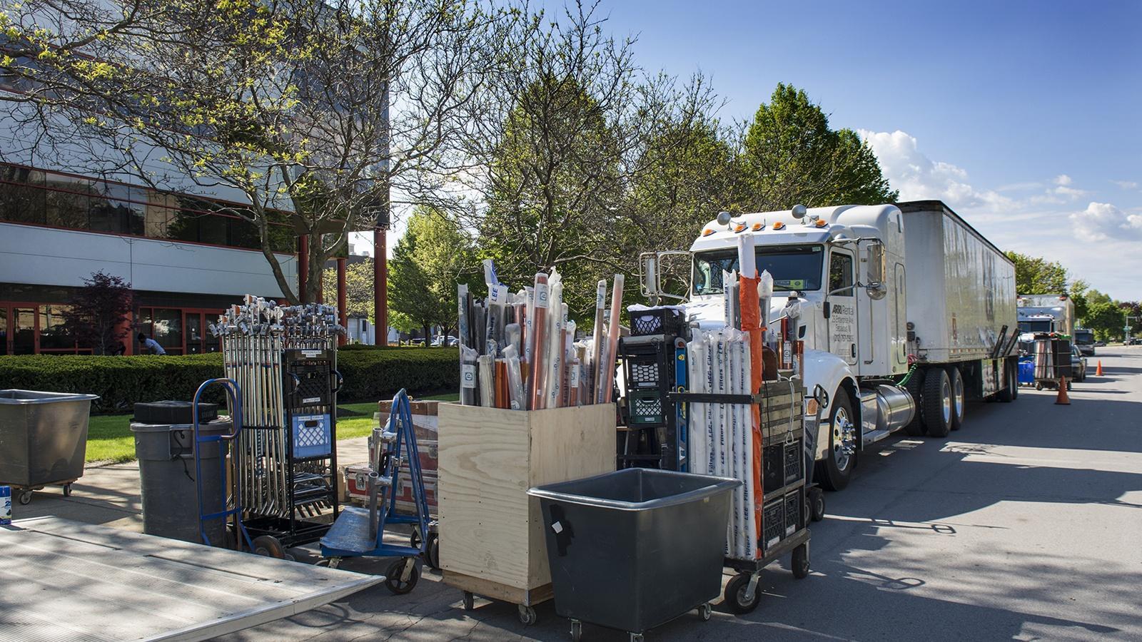 Film lighting trucks