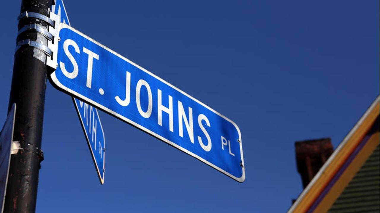 St. Johns Place street sign