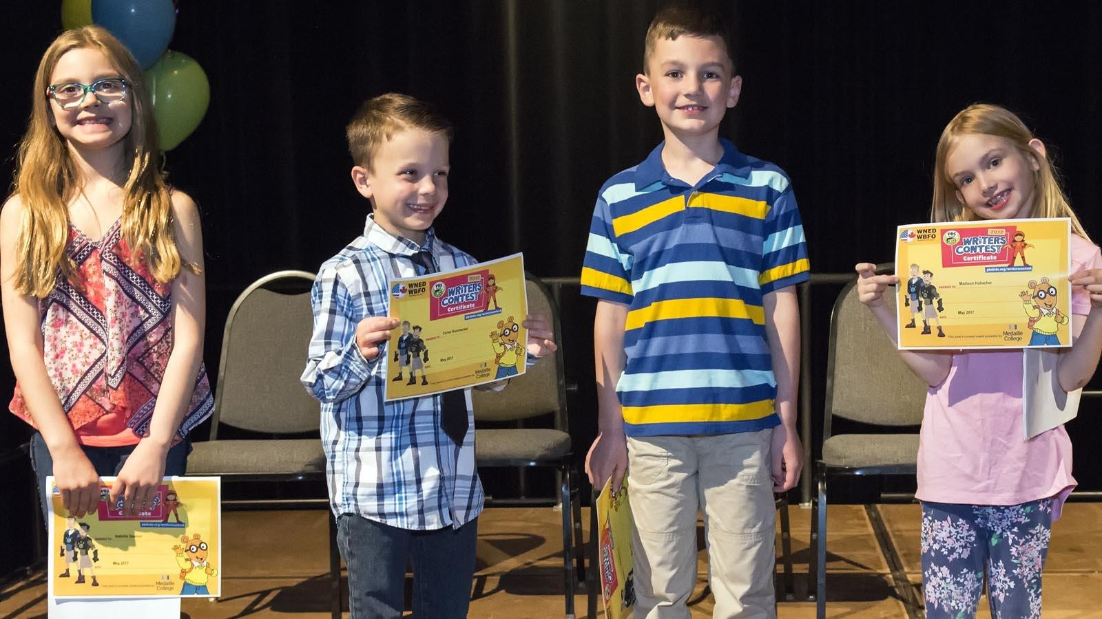First Grade Winning Authors