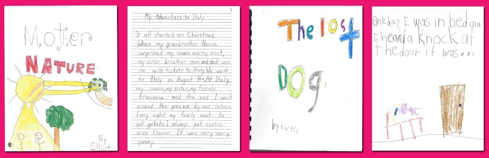 First Grade Winning Stories
