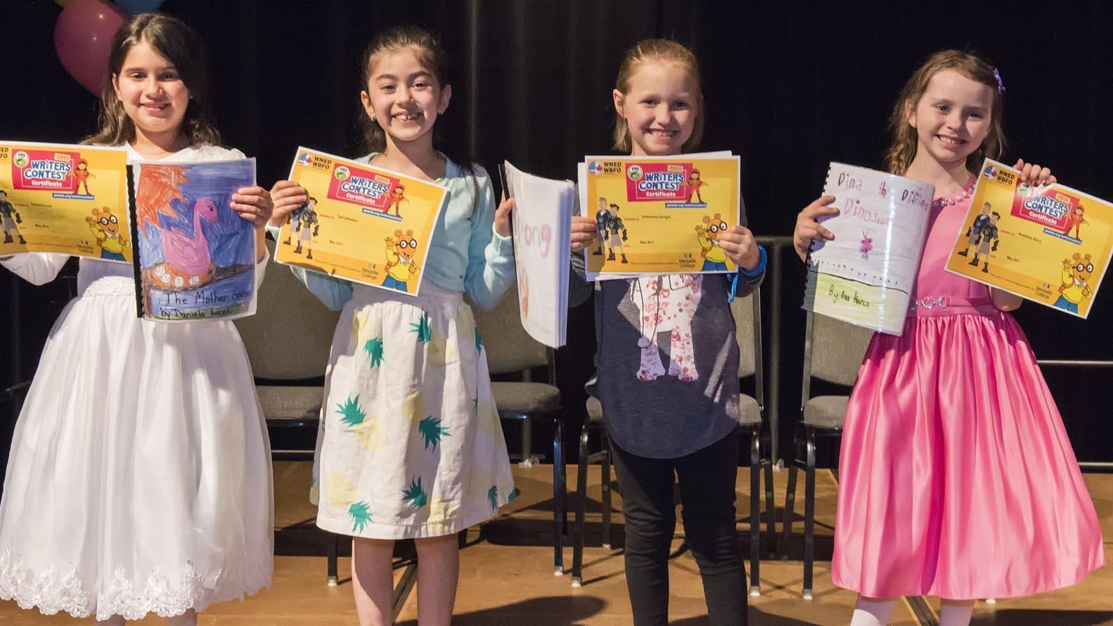 Second Grade Winning Authors