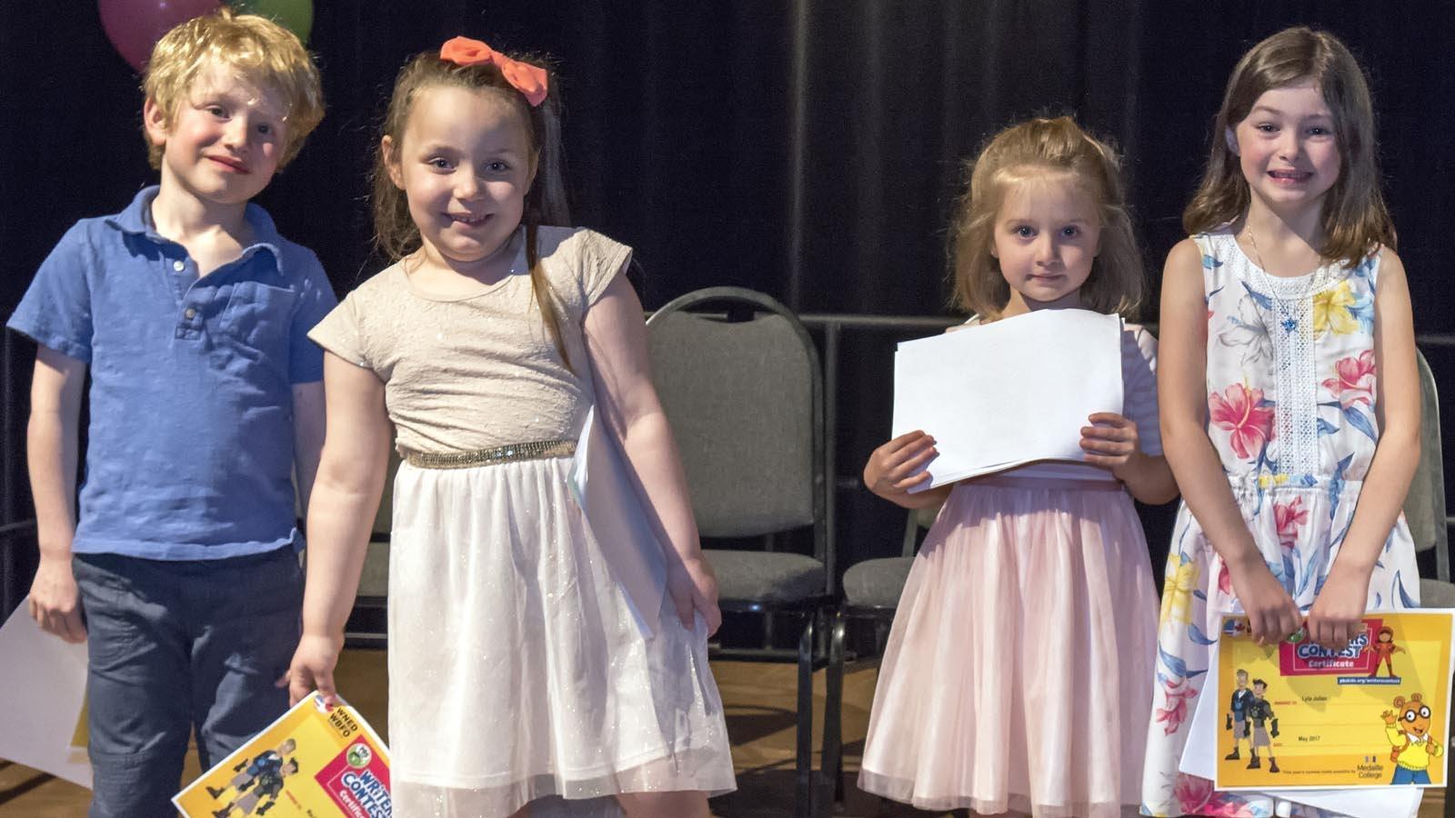 Kindergarten Winning Authors