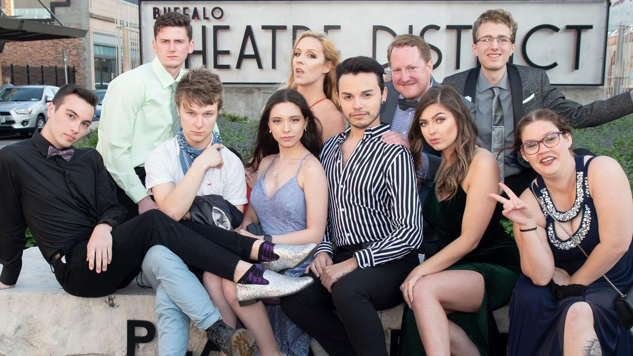 Cast members from 'Heathers,' American Reperatory Theater of WNY