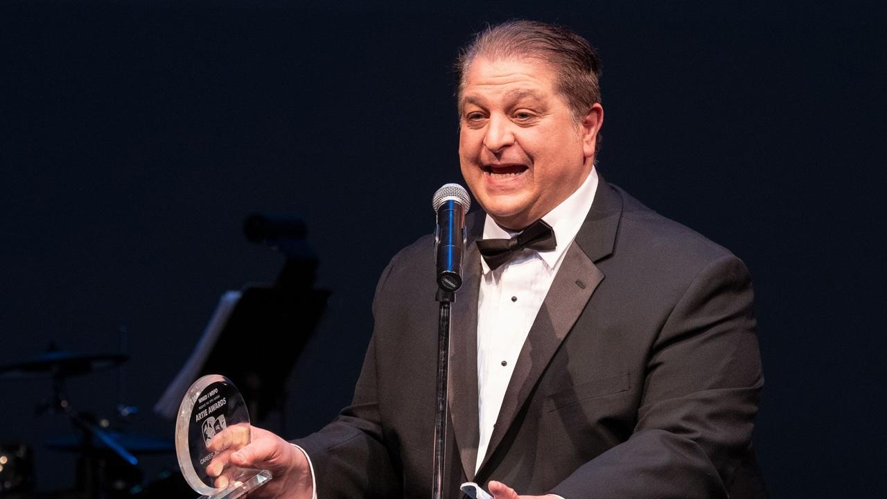 Jay Desiderio, winner of the Career Achievement award