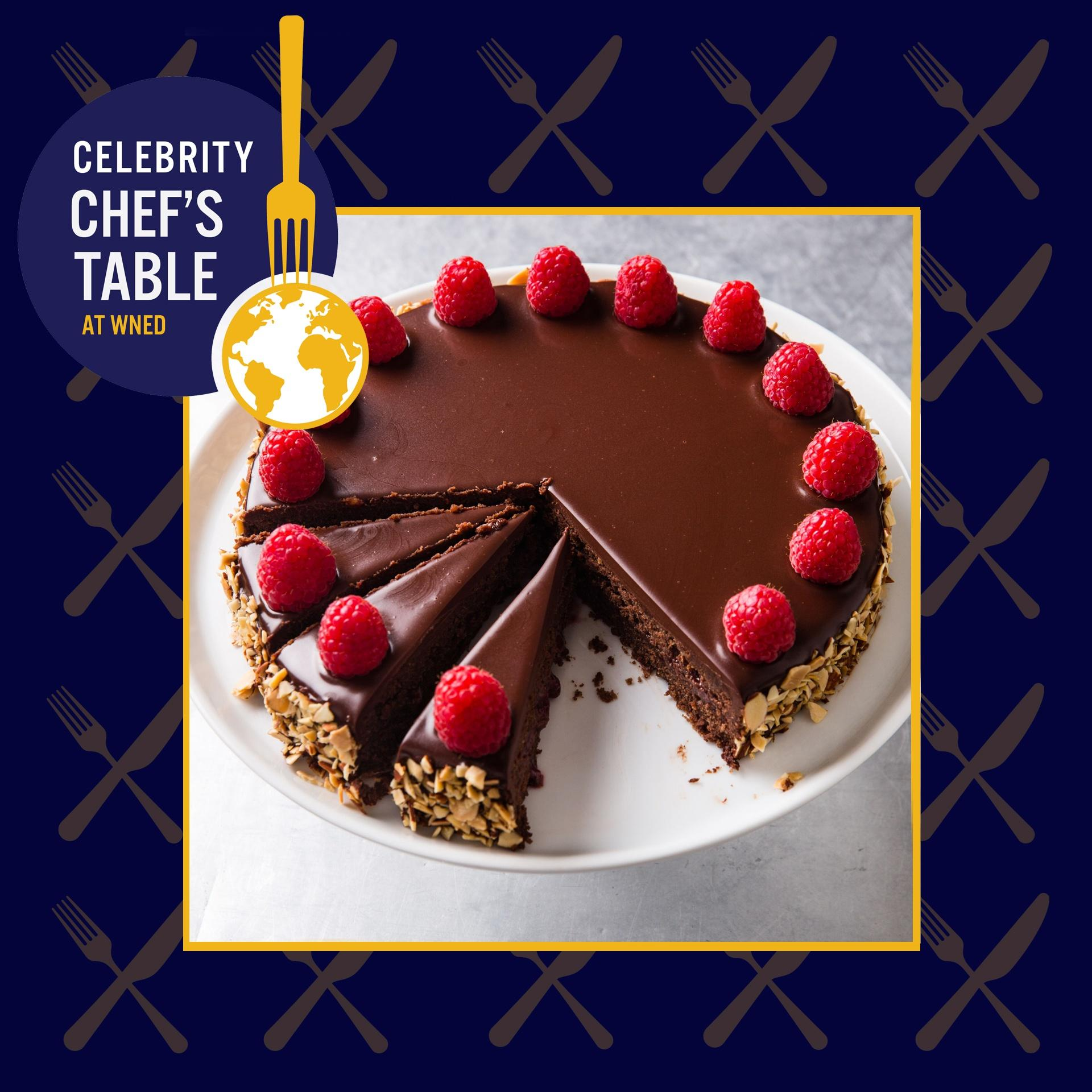 Celebrity Chef's Table Dessert Course: Chocolate-Raspberry Torte