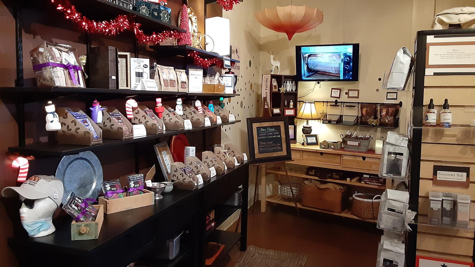 Inside Dark Forest Chocolate Makers