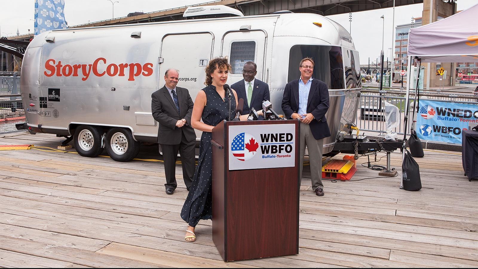 WBFO Hosts StoryCorps Visit to Buffalo