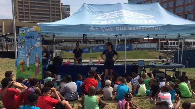 EPIC Storytime at Canalside