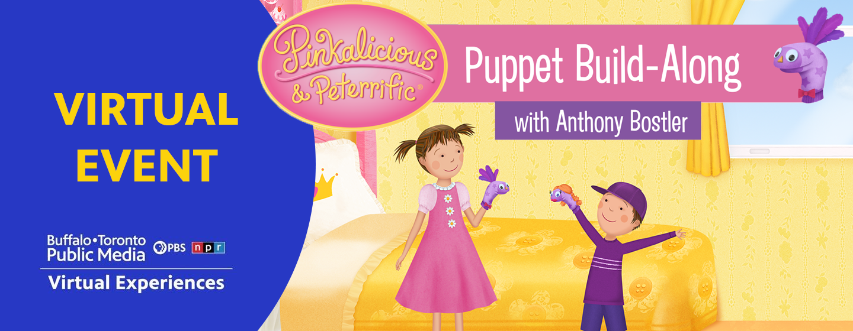 Pinkalicious & Peterrific Puppet Build-Along