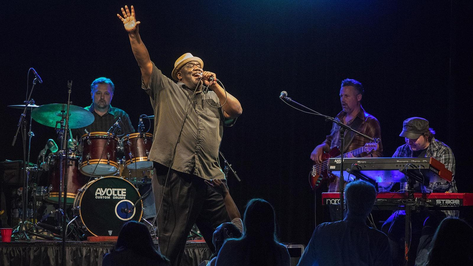 A sellout crowd attended WBFO's Buffalo Blues Bash on April 22 with headliner was Altered Five Blues Band