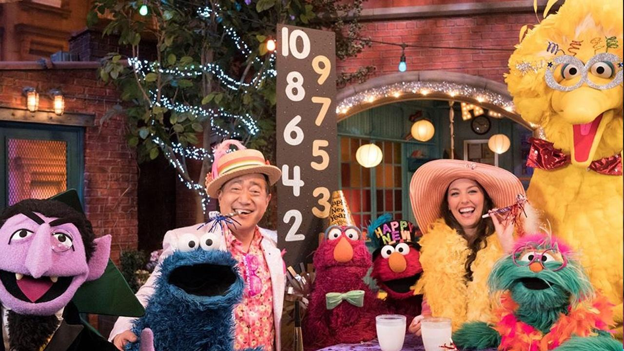 New Year's Eve on Sesame Street