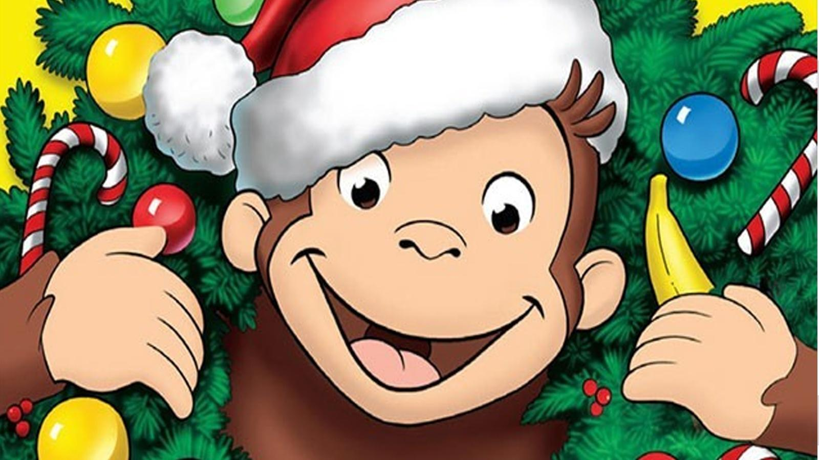 Curious George, A Very Monkey Christmas