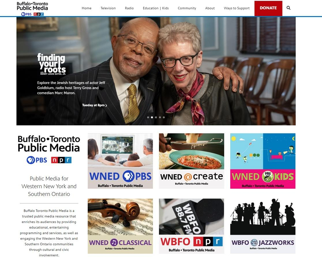 wned.org home page