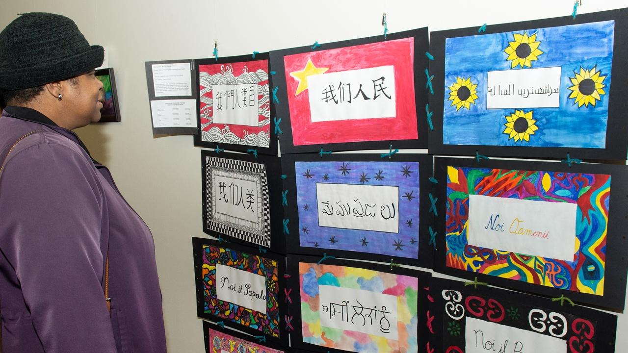 The Peace Project, exhibition from young Buffalo Public School Artist