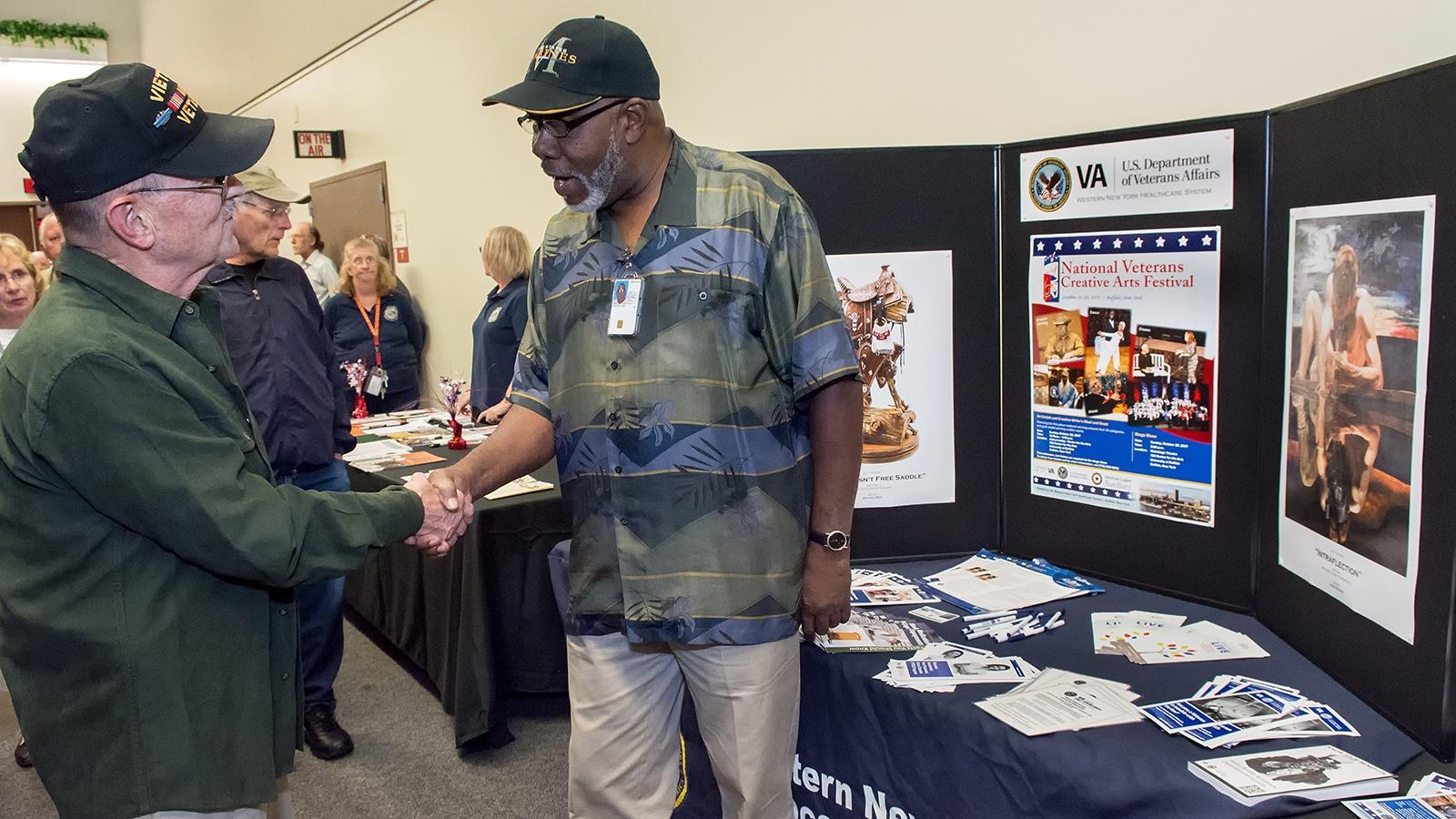 Veterans as Artists: Transitions opening September 7, 2017