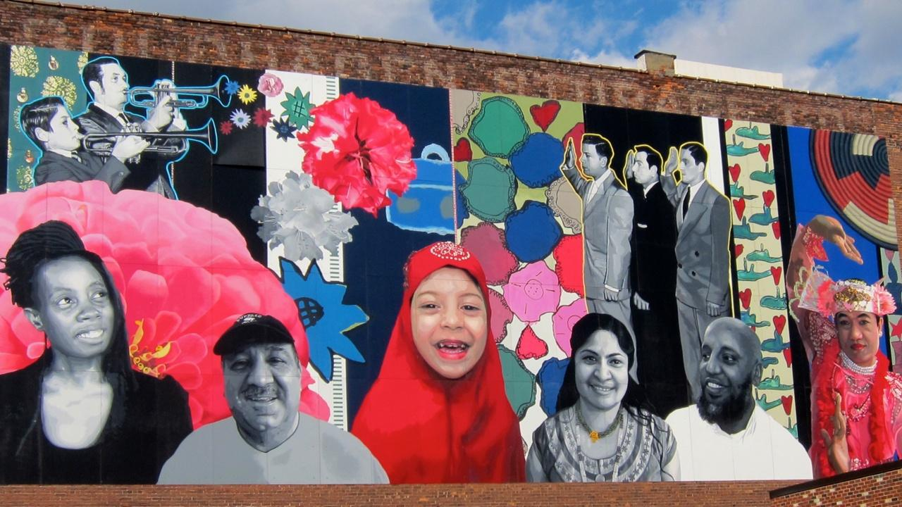 Grant Street Global Voices Mural
