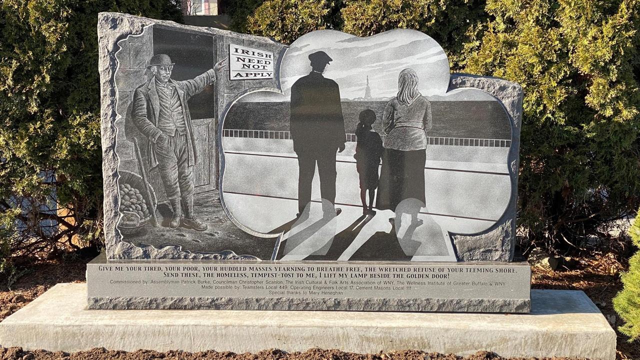 Irish Immigrant Monument