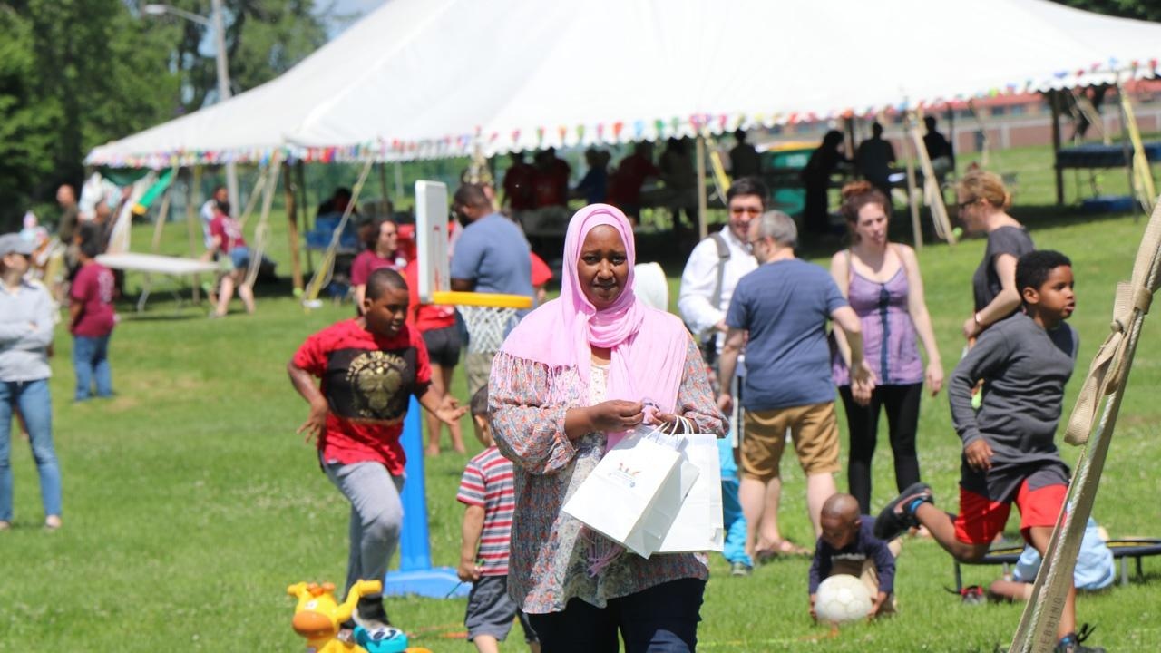 World Refugee Day celebrations in Buffalo's LaSalle Park