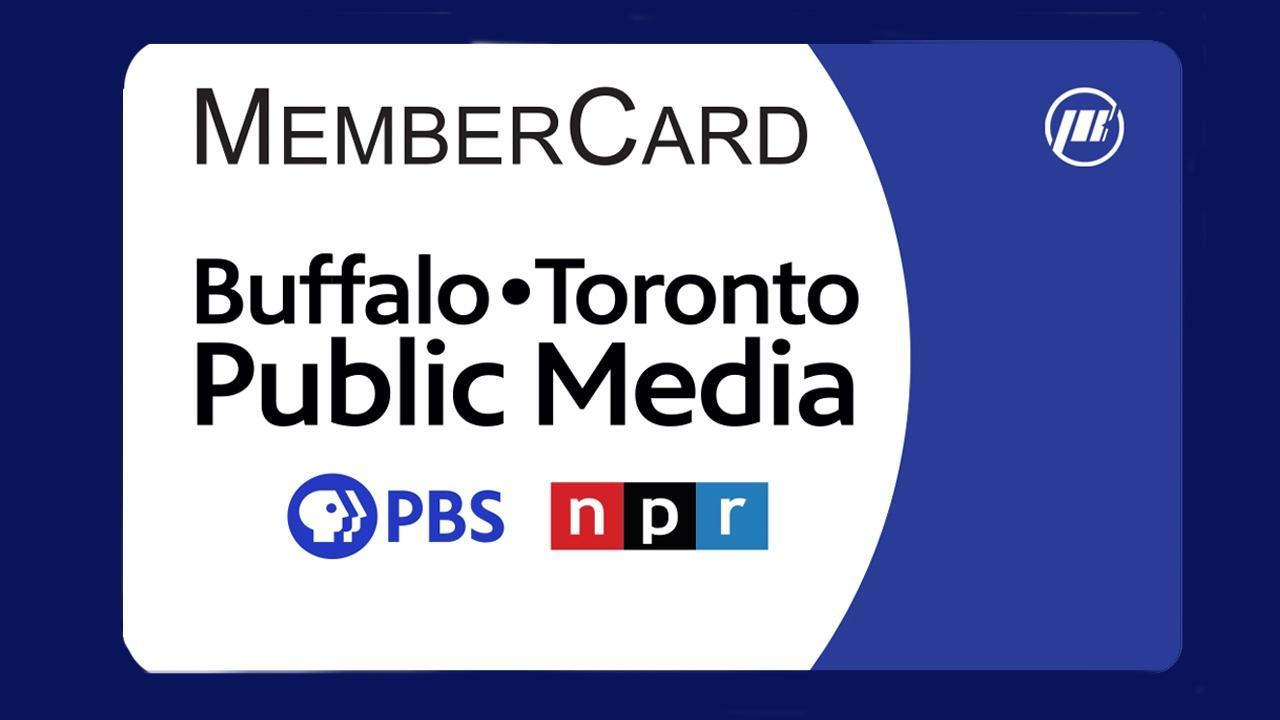 Buffalo Toronto Public Media MemberCard