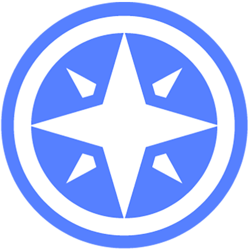 WNED PBS Passport compass rose