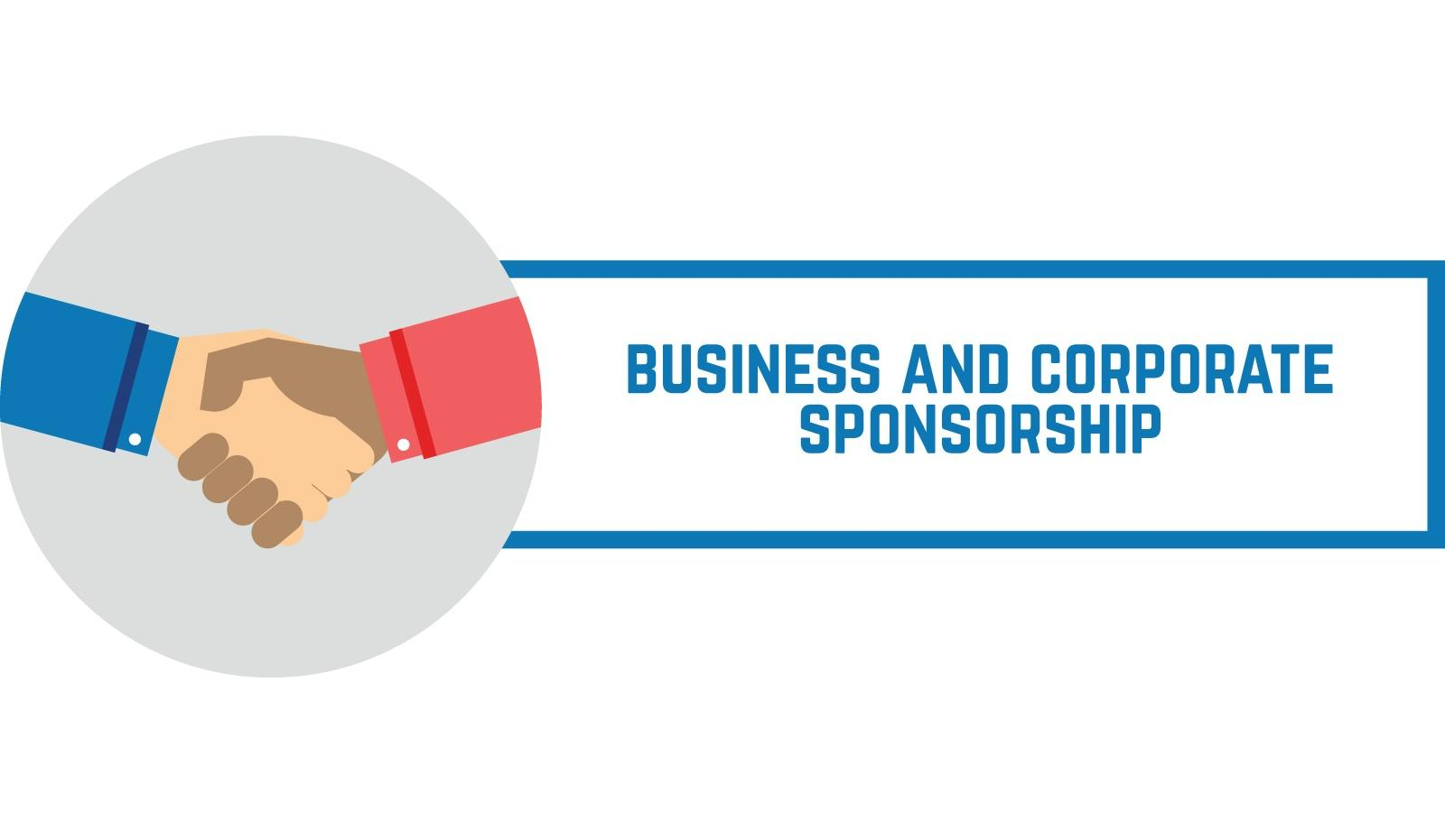Business and Corporate Sponsorship