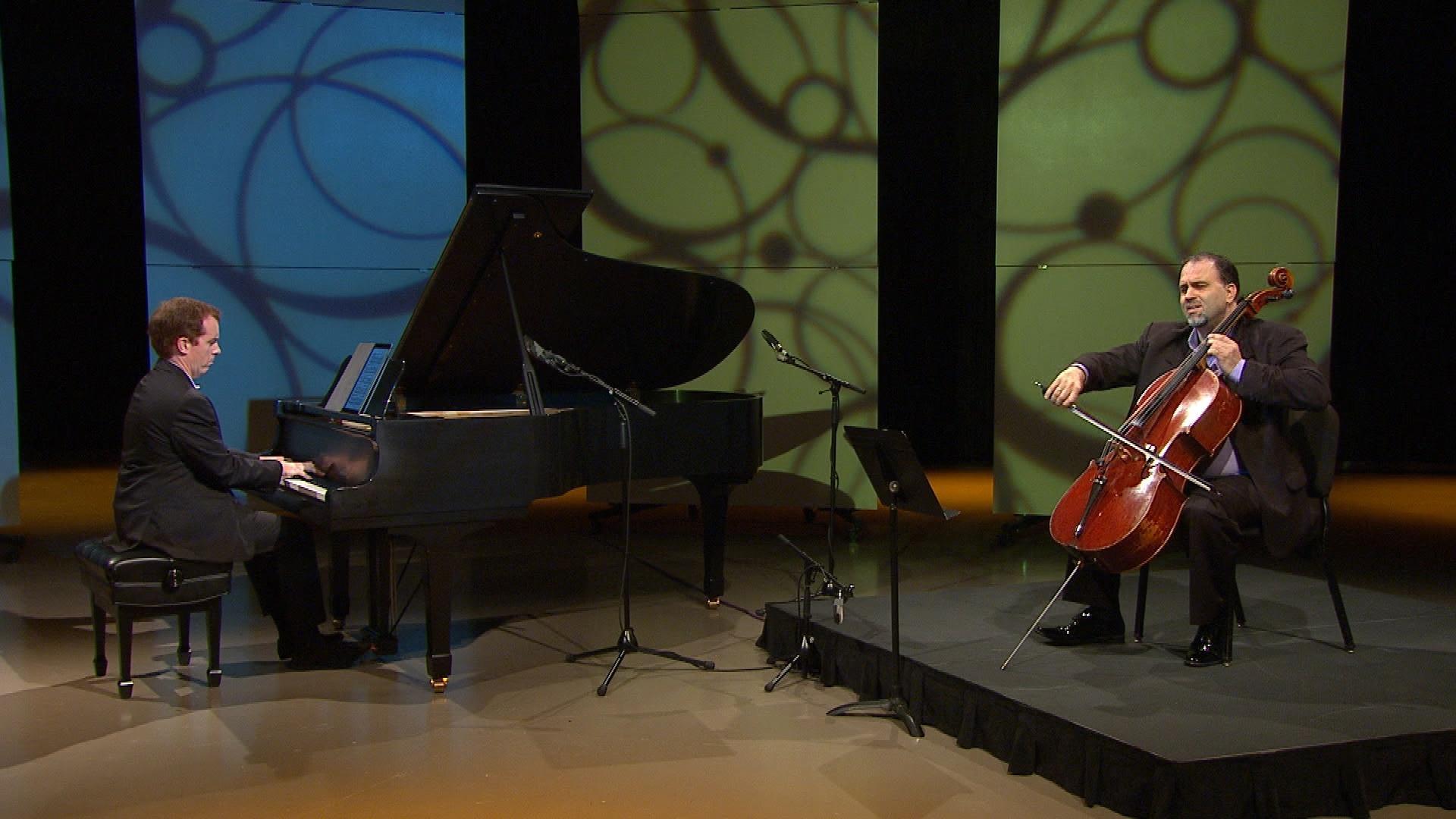 BPO musicians Eric Huebner, Piano and Roman Mekinulov, Principal Cellist