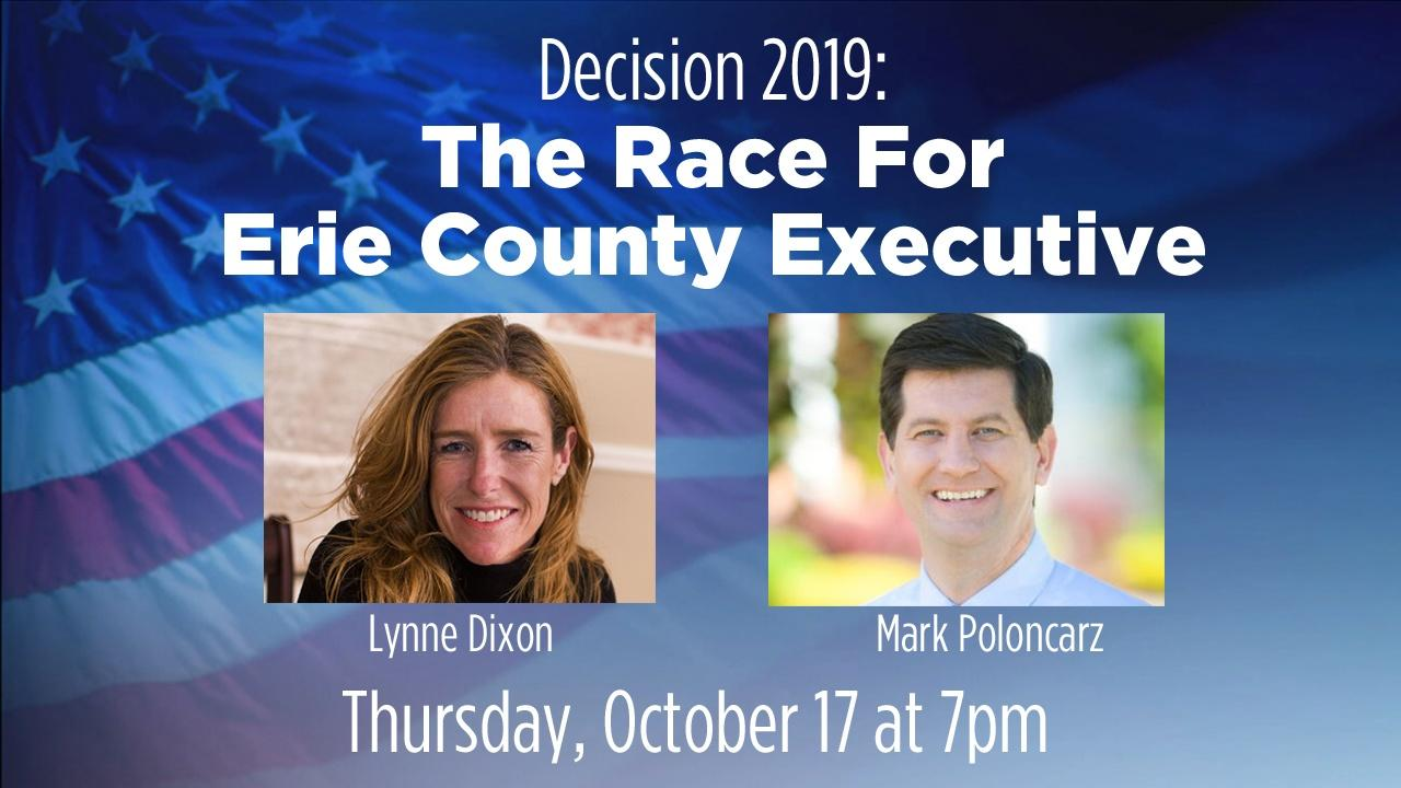 The Race for Erie County Executive Debate