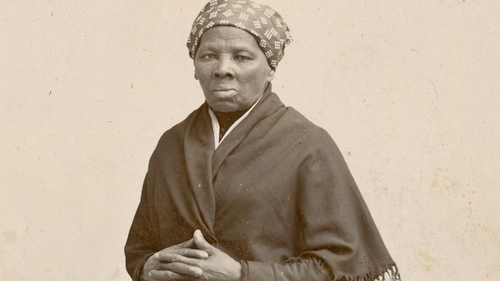 American abolitionist and political activist, Harriet Tubman.