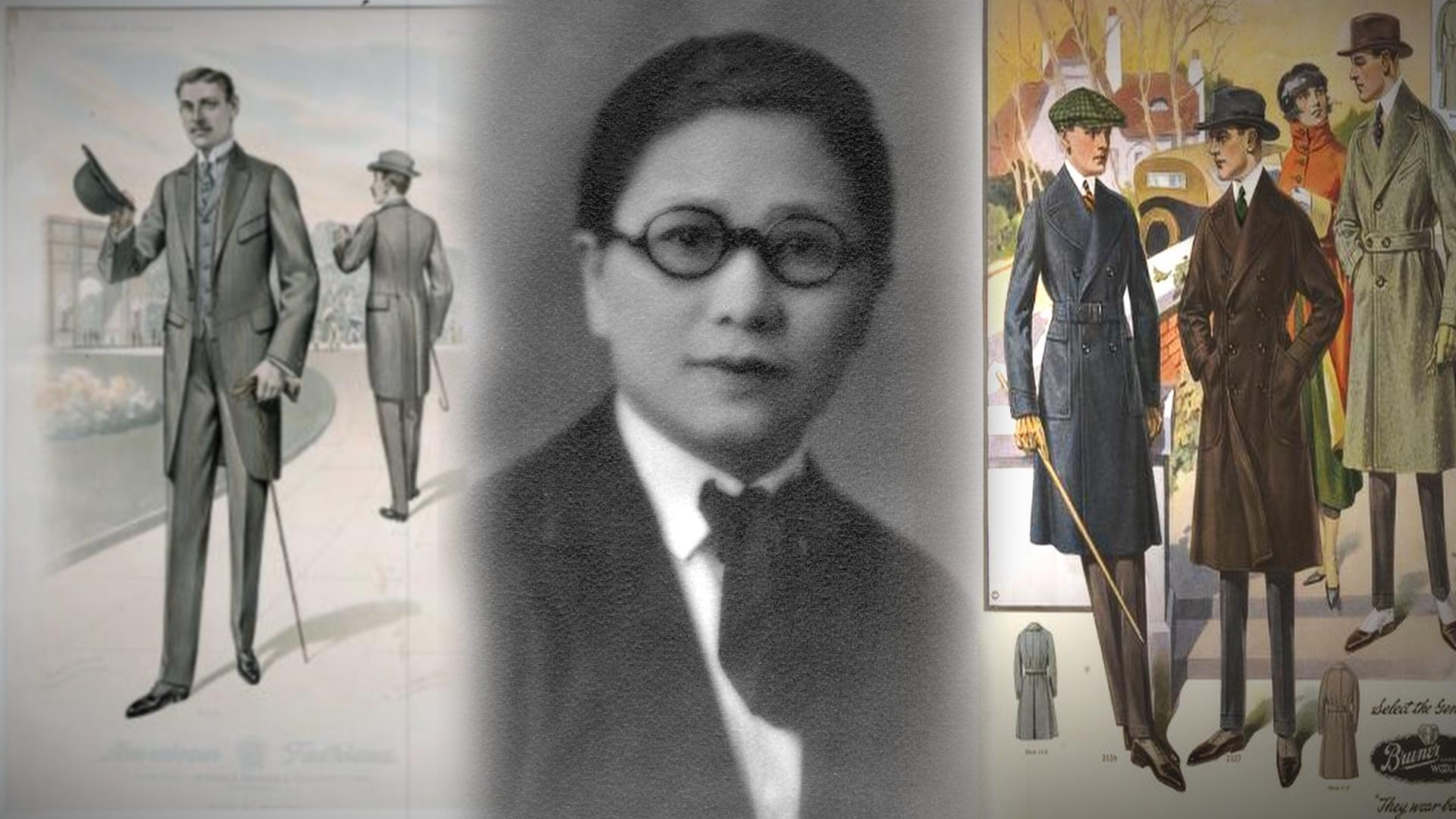 Margaret Chung dressed in menswear