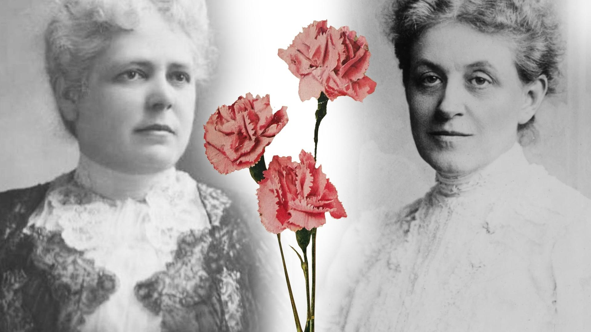 Carrie Chapman and Mollie Hays