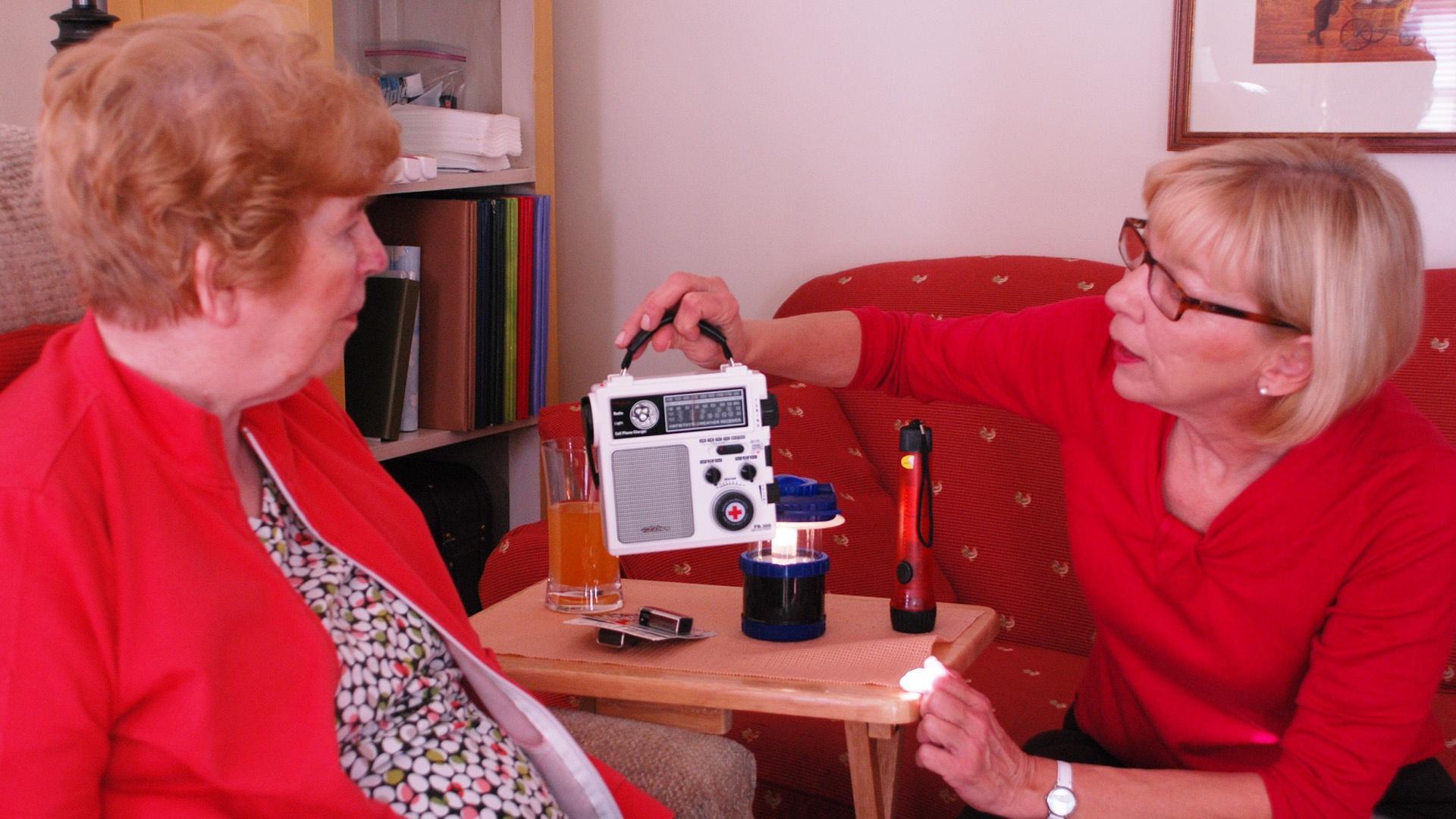 Caregiver lanning for emergencies