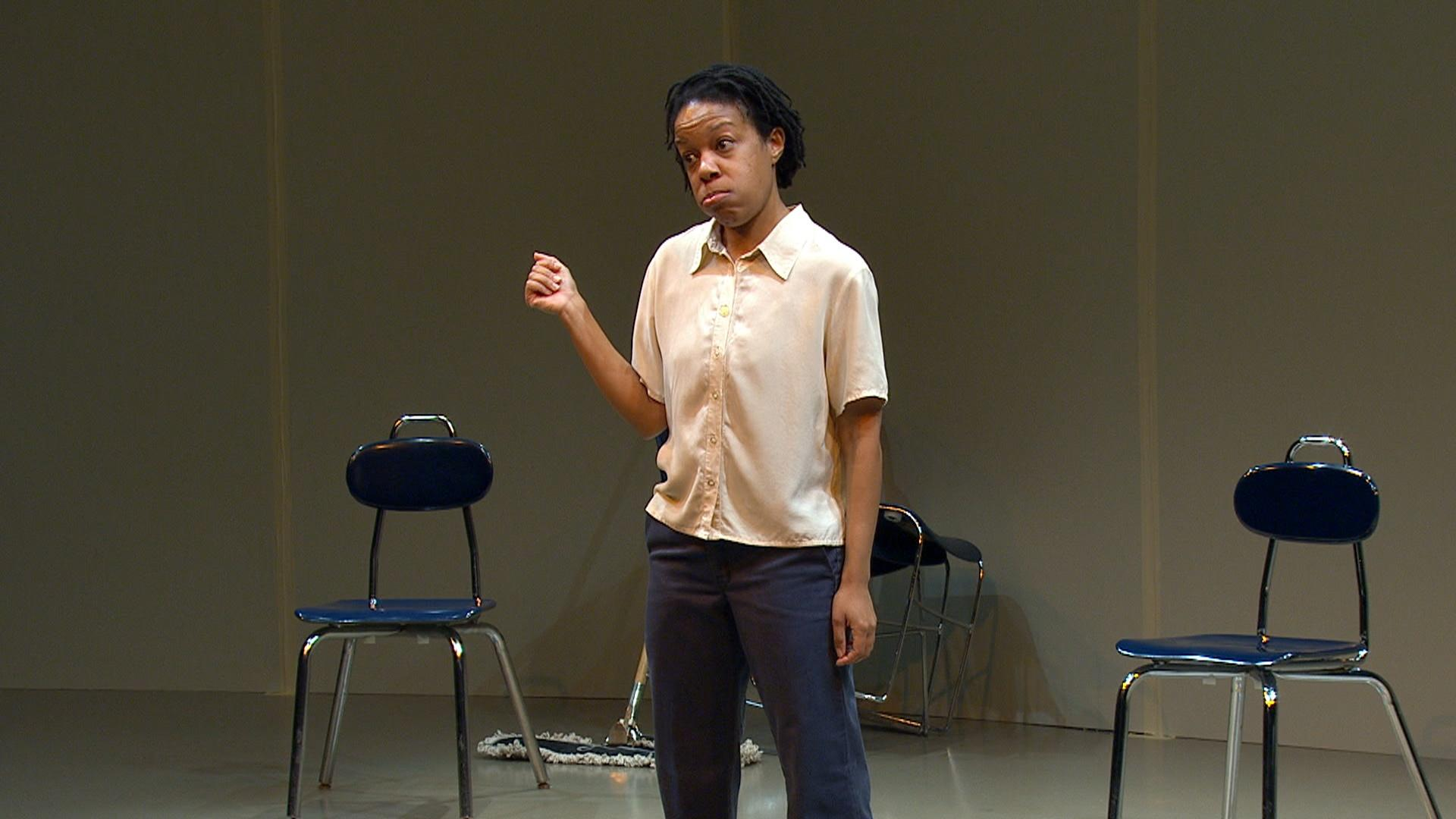 """Nilaja Sun is an actor, playwright and teaching artist most known for her Obie award winning solo piece """"No Child..."""