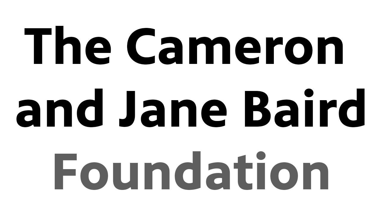The Cameron and Jane Baird Foundation