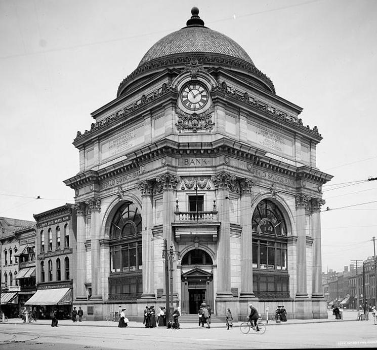 E.B Green's (Green & Wicks) Buffalo Savings Bank
