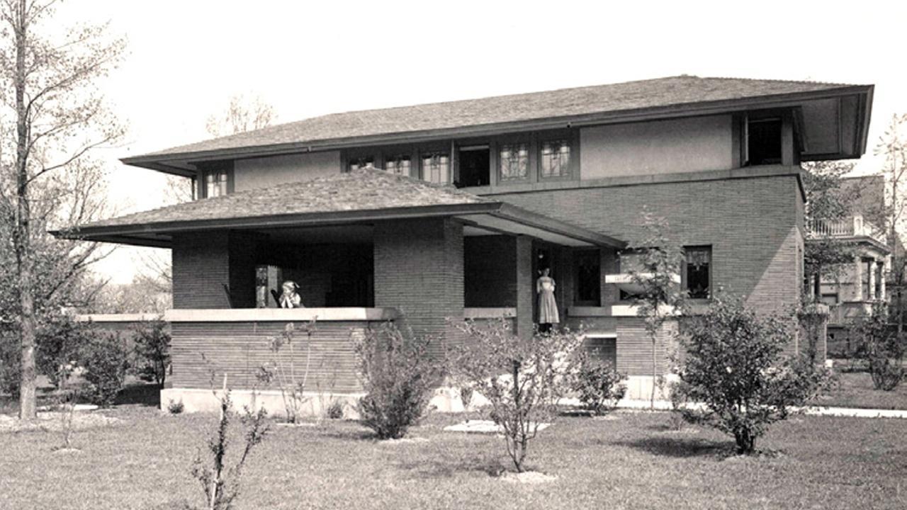 Frank Lloyd Wright's Darwin Martin House